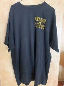 Vintage 1996 Seldon VS Tyson II Fight T-Shirt XL