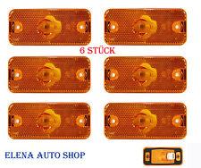 6 X IVECO DAILY luce di posizione anteriore Luce Contorno Posizione Lampada 500308514 NUOVO