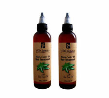 2 - Olde Jamaica Black Castor Oil Hair Treatment w/ tea tree oil- 4oz