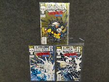The Punisher Suicide Run - Issue #23, 61, 62 - 1993 - Marvel Comics - Good