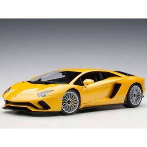Autoart Lamborghini Aventador S 1:18 New Giallo Orion / Metallic Yellow 79132