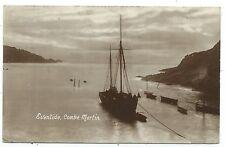 DEVON / SHIPPING - COMBE MARTIN, EVENTIDE  1913 Harvey Barton R.P. Postcard