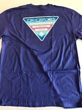 Columbia New PFG Fishing Gear Short Sleeve T-Shirt Men's Large Purple