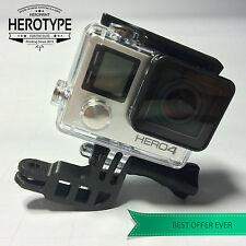 HEROType L (90 °) elbow soporte GoPro Mount corner casco Helmet bike car coche
