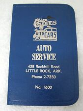 Advertising 1957 Big Values Used Cars Auto service - Little Rock ARK T75
