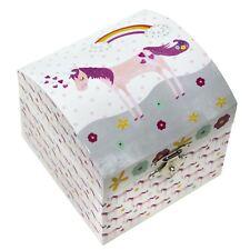 Unicorn Musical Jewellery Box Twinkle Little Star Childrens Girl Jewelry Gift