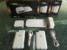 Duracell Powermat 24 Hour Power System iPhone 4 4S Wireless Charging Case White