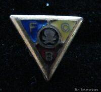 KNIGHTS OF PYTHIAS - Vintage fraternal Skull FCB PIN