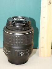 Nikon AF-S Nikkor DX SWM VR Aspherical 18-55mm 1:3.5-5.6 G Lens