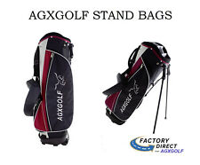 In Store Pick Up Only Howell Mi Mens Stand Golf Bag wDual Strap Red w/Rain Cover