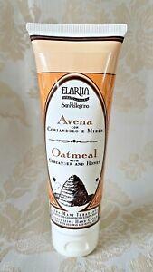 Perlier San Pellegrino Avena Oatmeal Coriander Moisturizing Hand Cream 4.2oz New