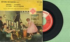 FERNANDEZ PRAY / Amapola / TELEFUNKEN TFK13.002 Pressing Spain 1961 EP VG+