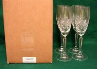 Schott Zwiesel CHANTILLY Champagne Flutes SET of FOUR MINT IN BOX
