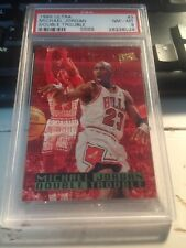 1995 Ultra Michael Jordan #3 Double Trouble PSA 8 Chicago Bulls NM/MT