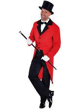 Red Tailcoat - Circus / Ringmaster / Cabaret Show  - Gents