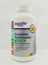 Equate Complete Multivitamin Tablets for Adults Aged 50+ 220 Count