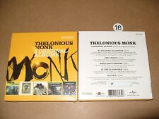 Thelonious Monk 5 Original Albums 2016 - 5 cd New & Sealed (seal slightly Broken