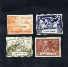 CAYMAN ISLANDS 1949. U.P.U ANNIVERSARY SET. L.H.M. S G No's 131-134.