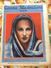 Cinema Illustrazione 1936 XI n° 1 Irina Lucacevic    23/12