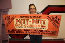 Large Vintage Putt-Putt Golf Course Win A Honda VW Volkswagen Gas Oil 45