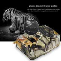 Outdoor Trail Camera 12MP FHD 1080P IR Hunting Scouting Wildlife Infrared Light