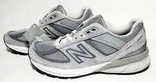 New Balance 990v5 W990GL5 Grey Running Shoes, Women's Size 9