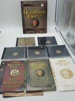 Baldur's Gate PC Computer Game Big Box Forgotten Realms - Nice Condition