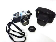 XLNT Condition Pentax K1000 35mm SLR Film Camera w/ SMC-M 50mm f1.7 lens & Case