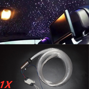 12V DIY Audio Fiber Optic Star Light Car Headliner Roof Ceiling Light Decorate