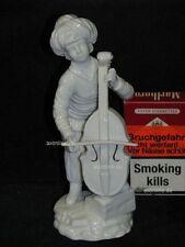. Höchst Figur Porzellan Prototyp Türkische Kapelle Gambenspieler Violoncellist