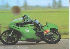 POSTCARD MOTOR BIKE - Anton Mang 250 CC Kawasaki