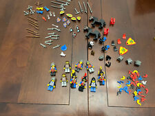 Lego vintage castle minifigures and weapons