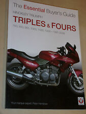 THE ESSENTIAL BUYERS GUIDE TRIUMPH TRIPLES & FOURS 1200 1050 1000 955+ 1991-2009