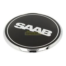 SAAB 93 9-3 03-12 NEVS BLACK BONNET BADGE 2100003 NEW GENUINE SUFFOLK VERY RARE