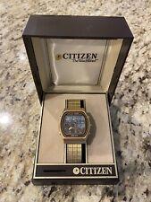 Vintage Citizen Digi-Ana Dual Time Watch 41-9524