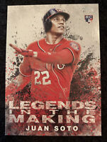 2018 Topps Update Legends In The Making Juan Soto RC Rare LITM-8 Nationals Hot!