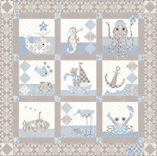 Quilt Pattern  ~ SAILOR BABY ~ by Bunny Hill Design