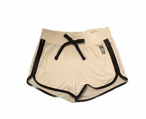 NWT JUSTICE White w/ Black Dolphin Active Shorts Size 8