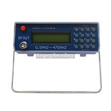 0.5-470Mhz RF Signal Generator Meter Tester for FM Radio Walkie-Talkie Debug
