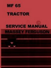 Massey Ferguson MF-65 MF65 Gas Diesel Tractor Harris Repair Shop Service Manual
