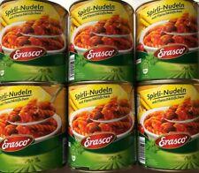 Erasco Spirli-Nudeln mit Fleischklößchen 6x800 gr