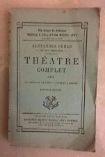 THEATRE COMPLET DE ALEX. DUMAS TOMO XXIV 1874