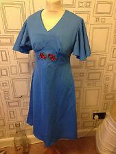Mod/GoGo 1960s Vintage Dresses Crimplene