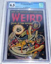 Weird Tales of the Future #6 CGC Universal Grade Comic 6.5 Aragon Publishing 🔥