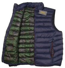 Polo Ralph Lauren Men's Cruise Navy Water-Repellent Packable Puffer Down Vest