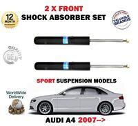 Per Audi A4 1.8 2.0 3.2 TFSI S4 2007- > 2 x Anteriori SX + Ammortizzatore Dx Set