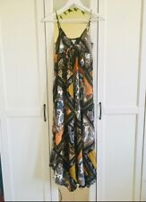 H&M Paisley Print Maxi Dress Size 8 Free & Fast Delivery