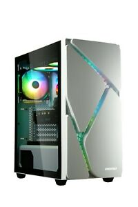 Enermax MARBLESHELL MS30 Mid-Tower ARGB PC Case - White - Refurbished