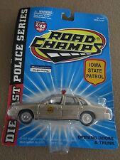 """Road Champs """"Iowa State Patrol"""" Police Car 1:43 scale"""