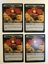 4x Mtg Throne Of Eldraine Food Token NM/M Magic Karte Magic The Gathering